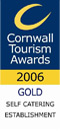 Cornwall Tourism Awards 2006 Gold