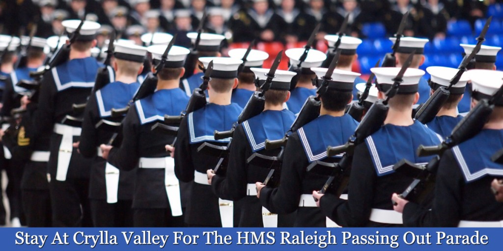 HMS Raleigh passing out parade