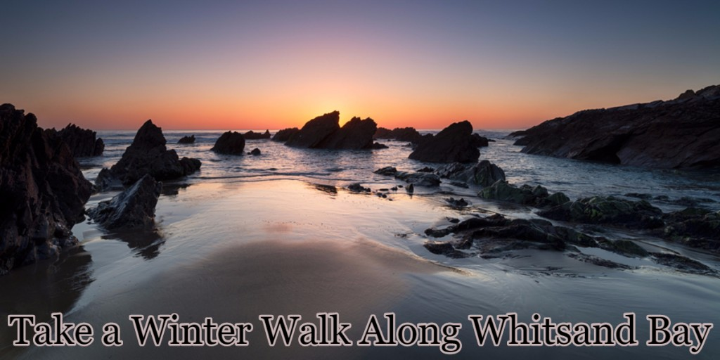 take a winter walk along whitsand bay