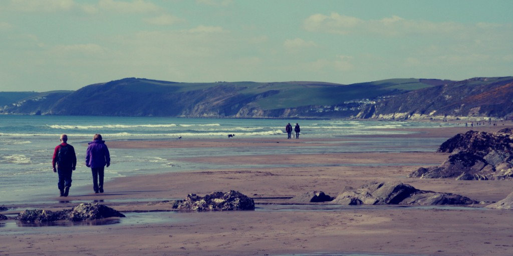 Whitsand Bay in the Winter