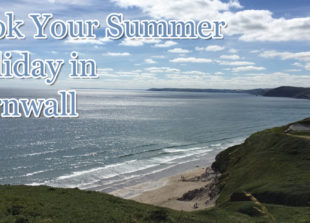 book your summer holiday in cornwall